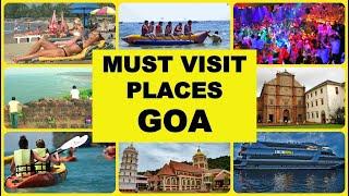 Famous 10 places to visit in Goa tour in Hindi | Goa Tourism #triptogoa #goatravel #goatrip