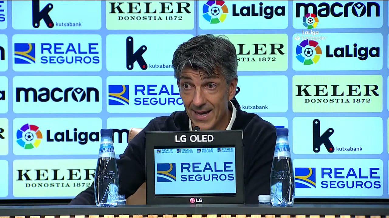 Rueda de prensa Real Sociedad vs Sevilla FC