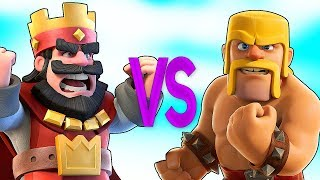 CLASH ROYALE VS CLASH OF CLANS | СУПЕР РЭП БИТВА | Клеш Рояль ПРОТИВ Клеш Оф Кленс