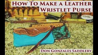 How To Make a Leather Wristlet Purse