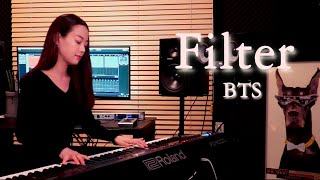 여배우가 연주하는 BTS(방탄소년단) - Filter
