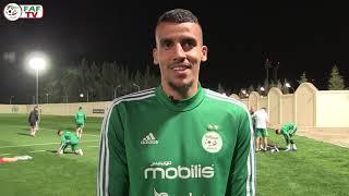 Entraînement de l'Equipe d'Algérie à J-2 du match face au Zimbabwé