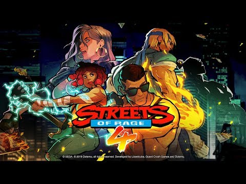 Adam Hunter de Streets of Rage 4