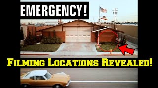 Emergency! (TV Show)---FILMING LOCATION Revealed! Before and After/Then and Now!--The Fire Station!