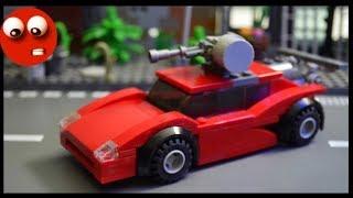 Спортивная тачка из Лего для выживания в зомби апокалипсис. 🏎