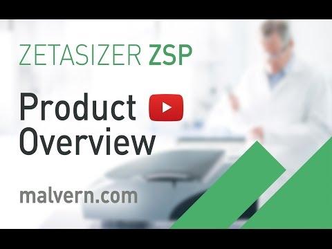 Zetasizer Nano ZSP - particle size, molecular size, zeta potential & electrophoretic mobility
