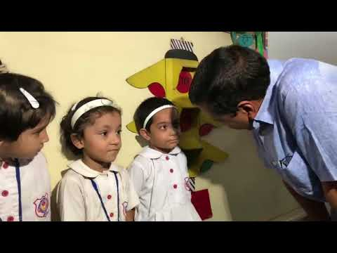 Delhi CM Arvind Kejriwal Interacts with Children of Rabea School