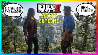 What Happens If Arthur Forgets To Steal The Oil Wagon To Rob A Train In Red Dead Redemption 2?