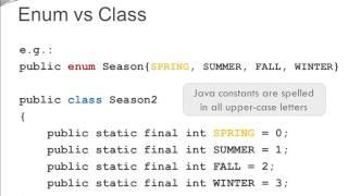 Java Basics - Enums Part 1