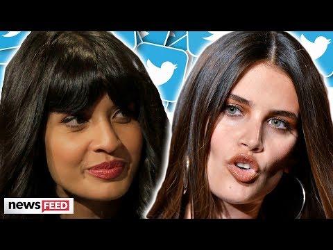 Jameela Jamil & VS Model Sara Sampaio Go To WAR On Twitter!