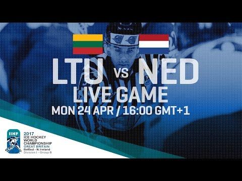 Lithuania - Netherlands | Full Game | 2017 IIHF Ice Hockey World Championship Division I Group B