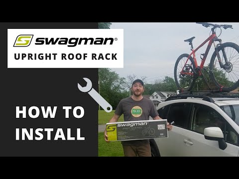 How To Install The Swagman Upright Roof Mount Bike Rack
