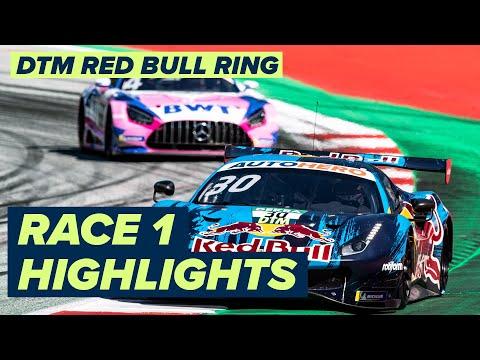 DTM ニュルブルクリンク(ドイツ) レース1のハイライト動画