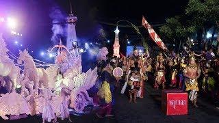 Keseruan Pawai Wayang Jogja Night Carnival 2017