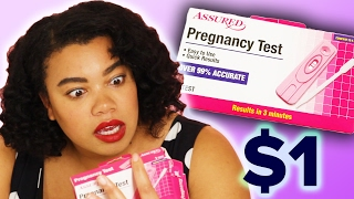 Women Try $1 Pregnancy Tests