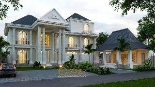 Video Desain Rumah Classic 3 Lantai Ibu Ayu di  Denpasar, Bali