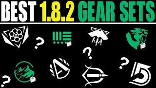 THE ONLY GEAR SETS YOU NEED IN PATCH 1.8.2... (THE DIVISION BEST GEAR AFTER PATCH)