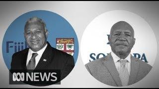 Fiji election: Frank Bainimarama