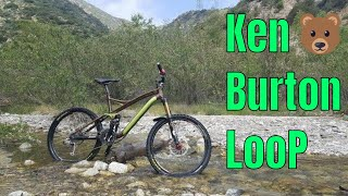 Ken Burton Loop in the Angeles Crest mountains