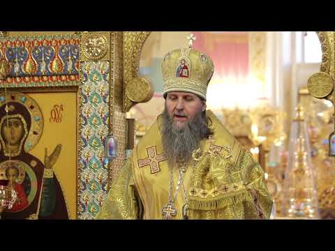 Слово митрополита Даниила на воскресной Литургии