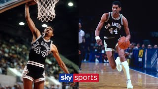 George Gervin's EPIC 41-point Performance Against Denver Nuggets | NBA GOLD 🏀