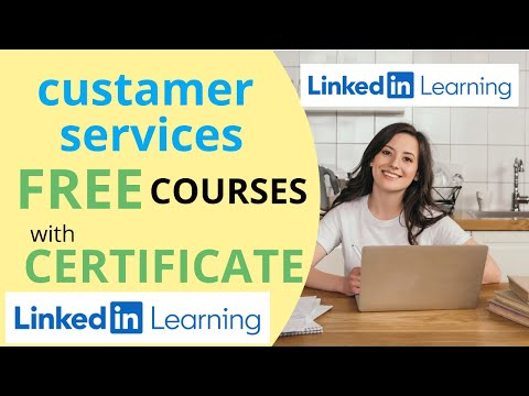 customer services free online courses with certificates|Linkdin ...