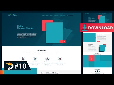 How to Create A Professional Website (Part 1) | Free Download