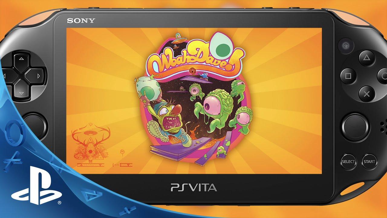 Woah Dave! prévu sur PS4 et PS Vita : sauvez la ville des œufs d'aliens !