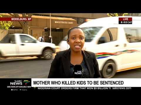 Mother who killed her 4 children faces sentencing