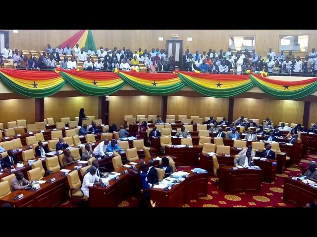 Ghana's Parliament debates whether to approve Madam Otiko Afisah Djaba or not