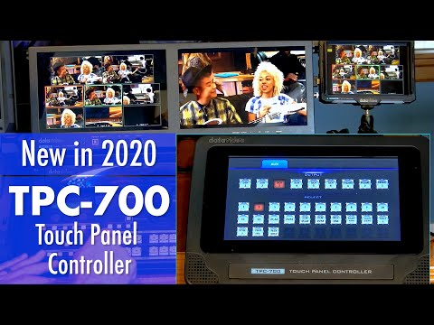 Datavideo TPC-700 Touch Panel Controller for HS-3200 or SE-3200