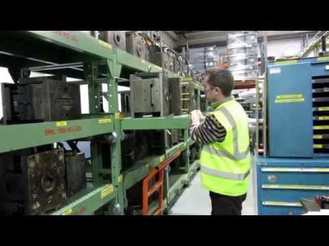 Pull Out shelving - Mould Tool Racking System