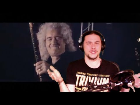 Blue On Black (Five Finger Death Punch) Ft. Kenny Shepherd & Brian May - REVIEW/REACTION - MetalBreakdown