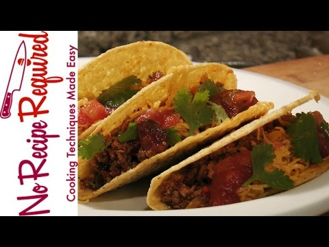 Video Kid Friendly Tacos - Kid Recipes - NoRecipeRequired.com