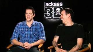 Jackass 3D Interview - Johnny Knoxville & Steve-O