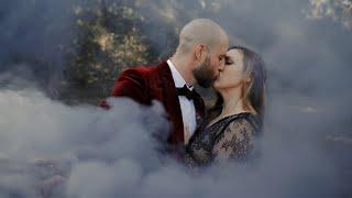 She Had A BLACK Wedding Dress | Dreamy Intimate Wedding At The Meekermark In Magnolia, Tx