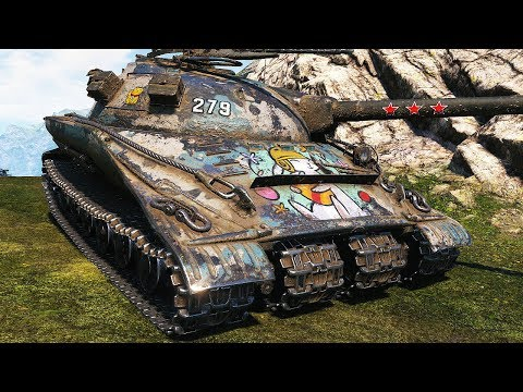 Object 279 (e) - BUNCH OF MEDALS - World of Tanks Gameplay
