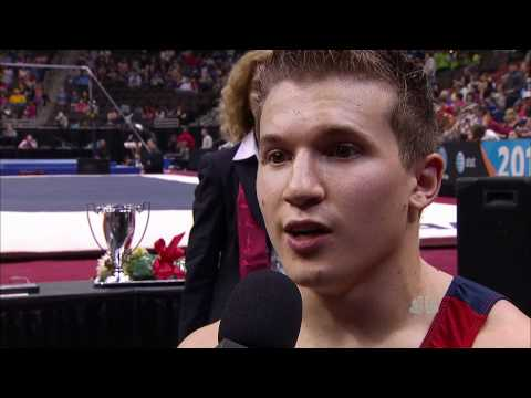 Jonathan Horton Interview - 2011 AT&T American Cup