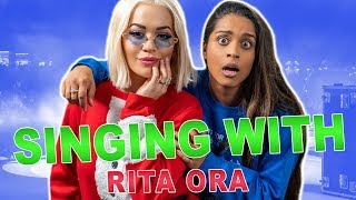 Trying To Sing Like Rita Ora