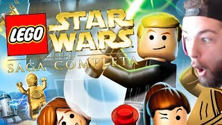 JEV PLAYS LEGO STAR WARS THE COMPLETE SAGA (CHALLENGE ACCEPTED)