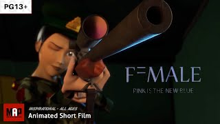 "Empowering ** Award Winning ** CGI Animated Short "" F=MALE By MAAC Powai (Women Rights Film) [PG13]"