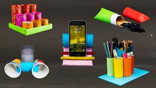 5 Toilet Paper Roll Craft Ideas