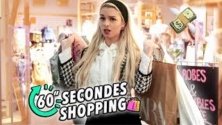 60 SECONDES Shopping Challenge!