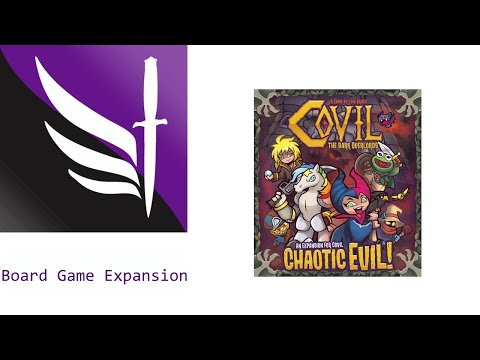 Chaotic Evil - Covil: The Dark Overlords - Board Game Expansion