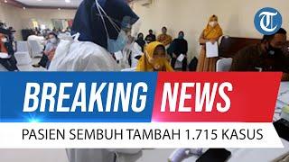 BREAKING NEWS: Update Covid-19 14 Oktober 2021: Meninggal Tambah 37 Orang, Sembuh 1.715 Kasus