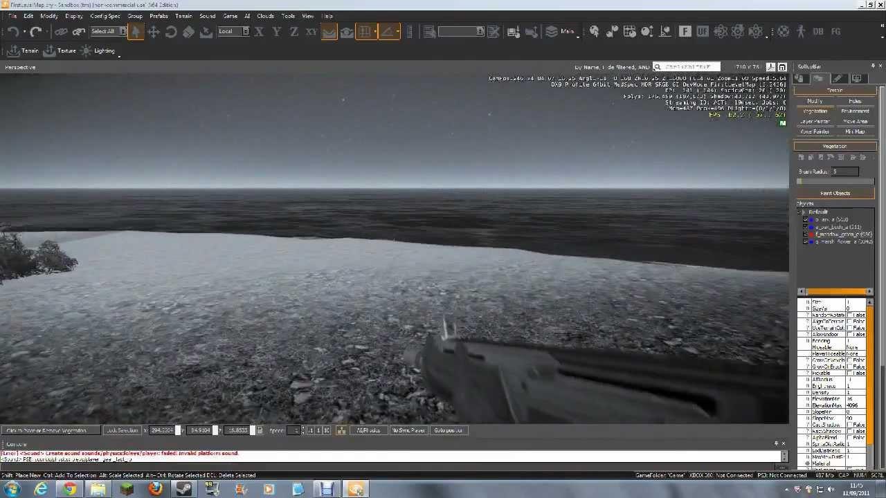 CryENGINE 3: A Basic Tutorial - Part 2