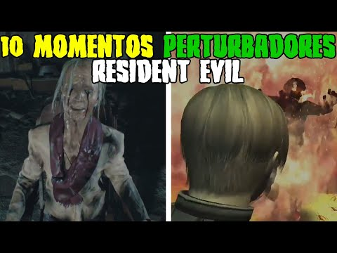 10 Momentos Perturbadores de Resident Evil