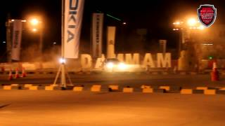 preview picture of video 'Red Bull Car Park Drift Dammam Full Coverage | Blazing Rims HD'