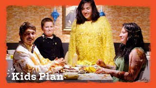 Kid Plans a Surprise Food Fight Date for His Parents | Kids Plan | HiHo Kids