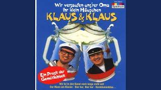 Musik-Video-Miniaturansicht zu Es gibt kein Bier auf Hawaii Songtext von Klaus & Klaus